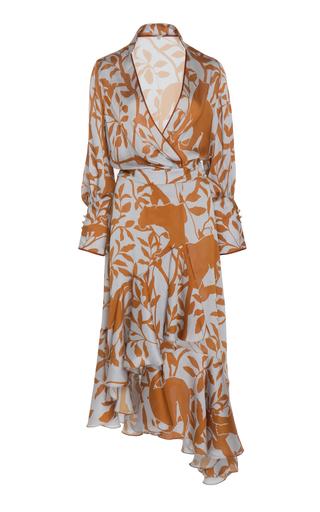 36c06b165b4e Jagger Printed Wrap Dress by Rhode | Moda Operandi