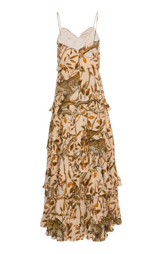 98121d410ef Johanna OrtizAll I've Ever Known Printed Tiered Silk Maxi Dress