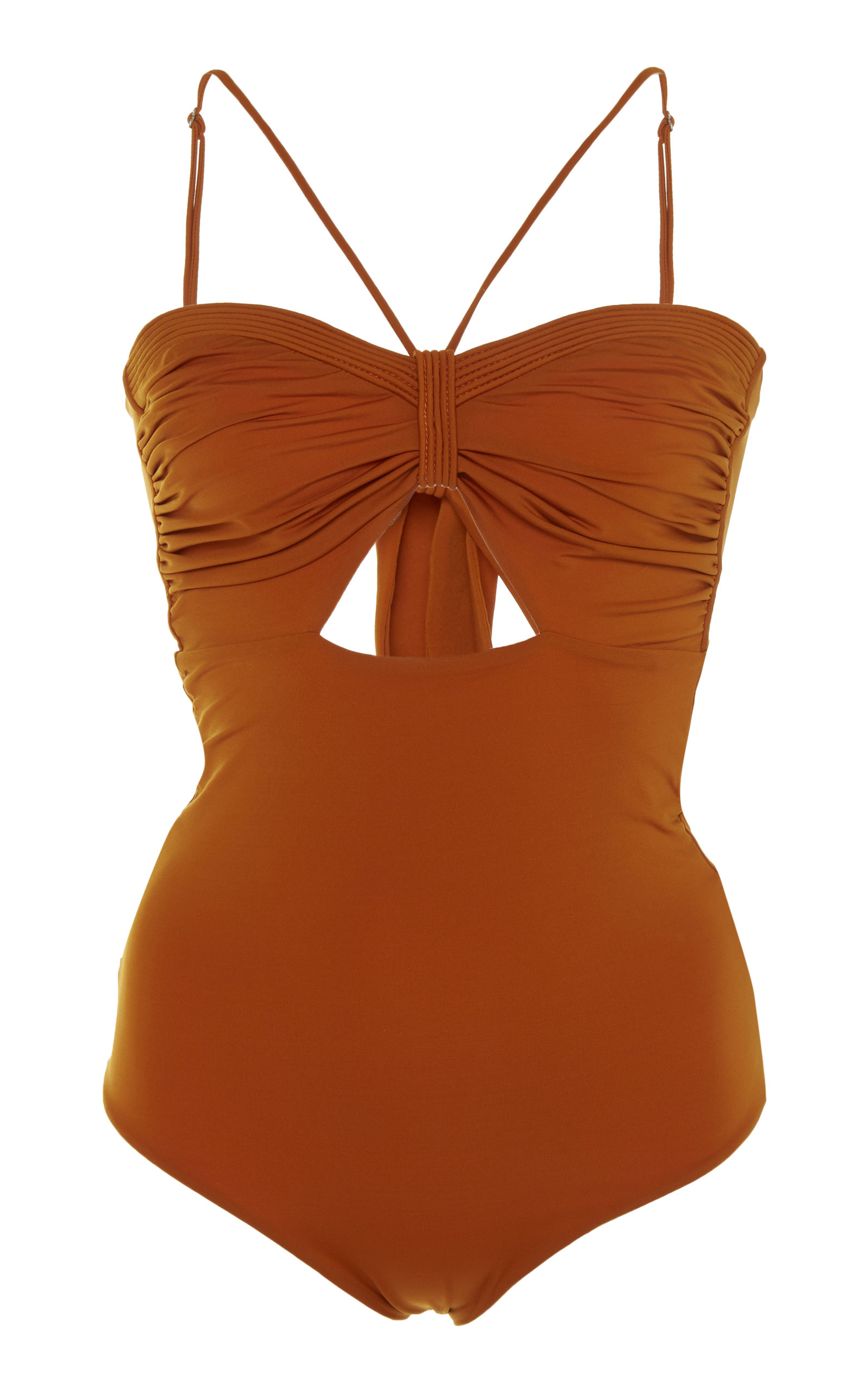 f20e5148b98dc Johanna OrtizTorment De Arena Ruched One-Piece Swimsuit. CLOSE. Loading