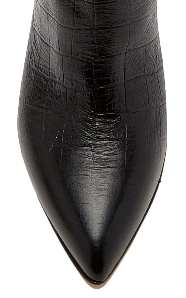 c4f51840c Paris Texas Croc-Embossed Leather Knee Boots. CLOSE. Loading. Loading.  Loading. Loading