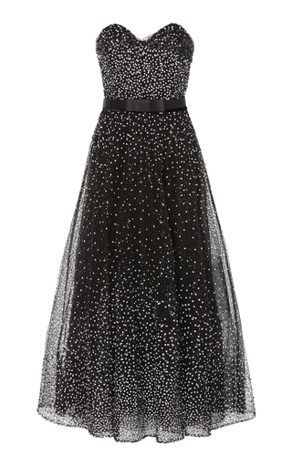 ee4f7b24b637 MarchesaFloral-Embroidered Silk-Jacquard and Lace Gown. $8,995. ($4,497.50  Deposit) · PREORDER