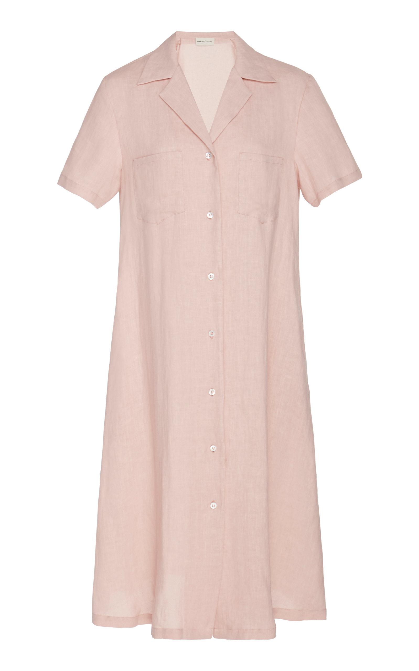 Linen Dress by Mansur Gavriel