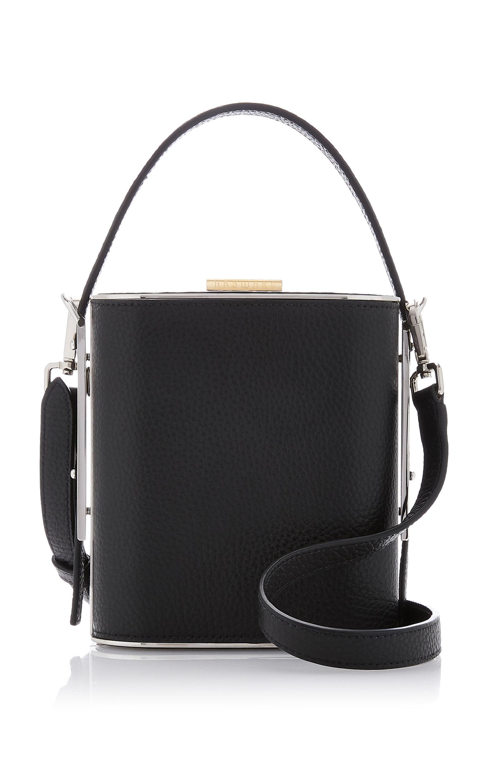HAYWARD | Hayward Mini Field Textured-Leather Bag | Goxip