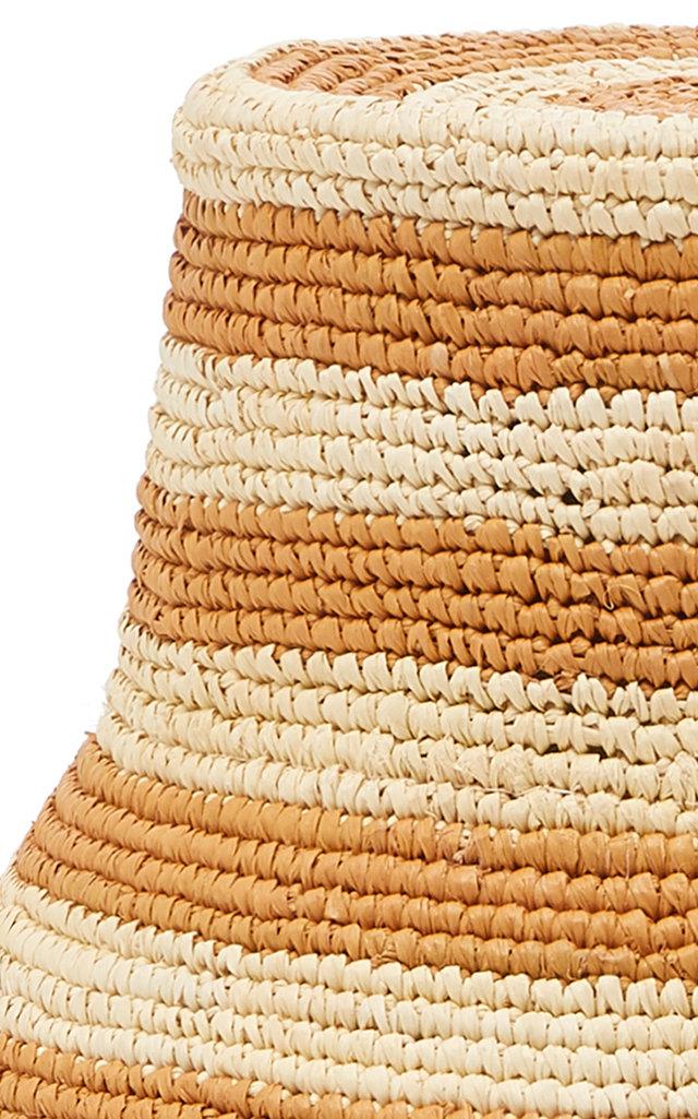9a5b1482f7ab69 Sensi StudioExclusive Striped Straw Bucket Hat. CLOSE. Loading. Loading.  Loading. Loading