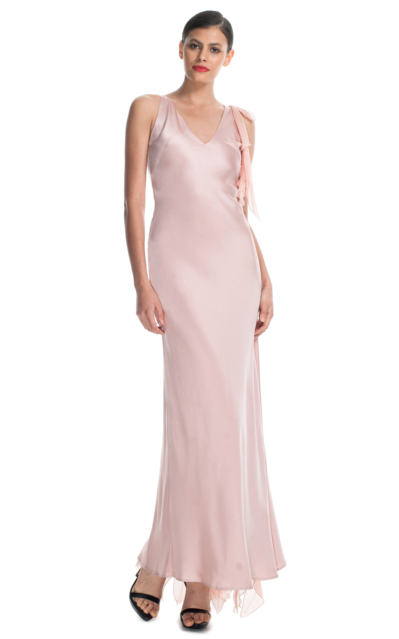 Gianni Versace Silk Evening Gown by New York Vintage | Moda Operandi