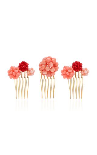 LELET NY | Lelet NY Set-Of-Three Beaded Hair Pins | Goxip