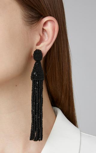 3ad256ba38b Fantasy Earrings in Black and Navy by Johanna Ortiz   Moda Operandi