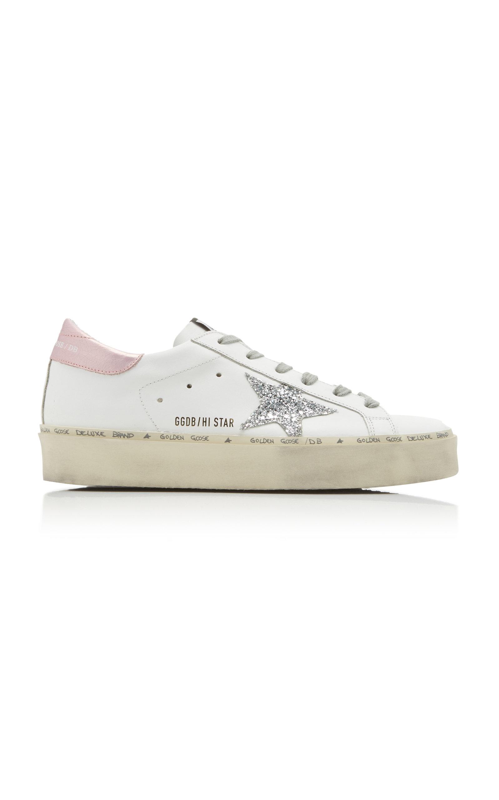 Hi Low Sneakers Star Leather Top bgIY6fyv7m