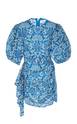 Rhode Pia Ruched Mini Dress