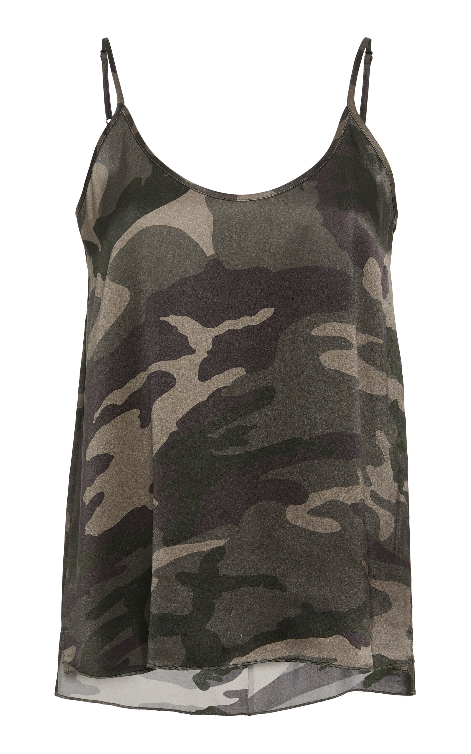 ATM ANTHONY THOMAS MELILLO | ATM Camouflage Silk Camisole | Goxip