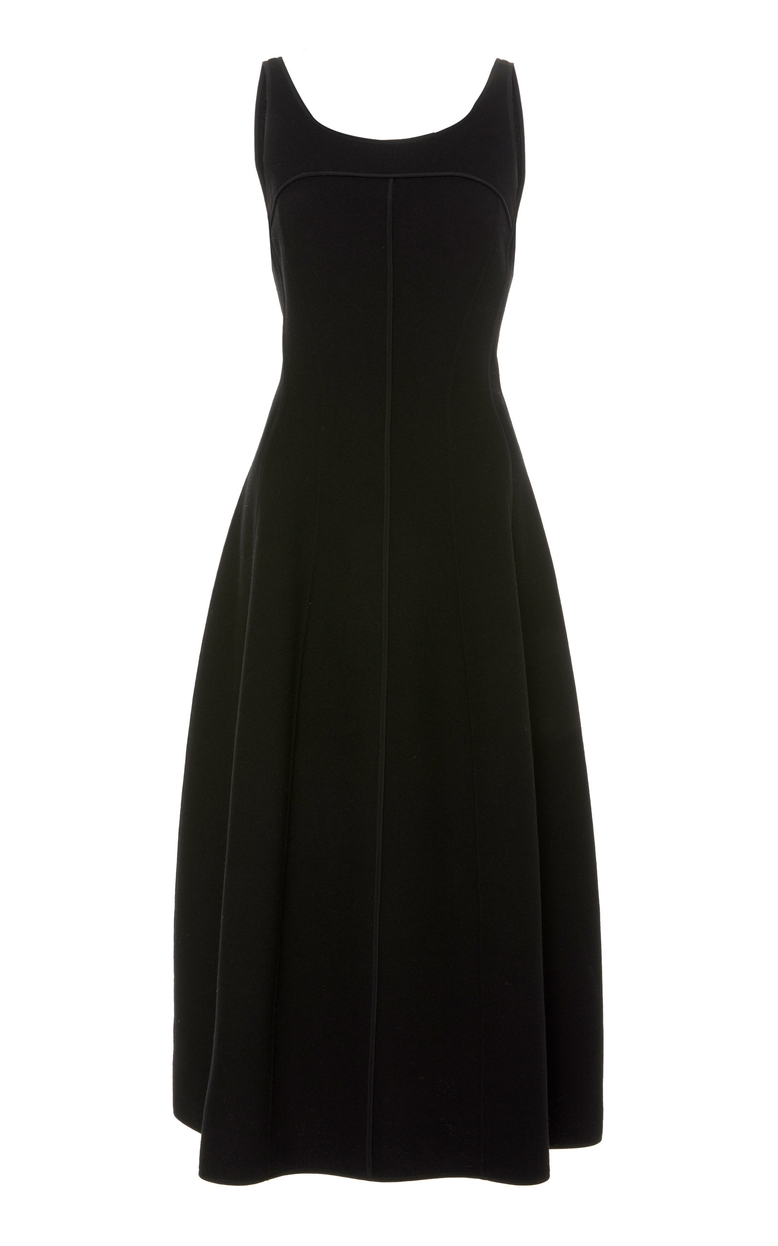 Narciso Rodriguez DOUBLE FACE WOOL DRESS