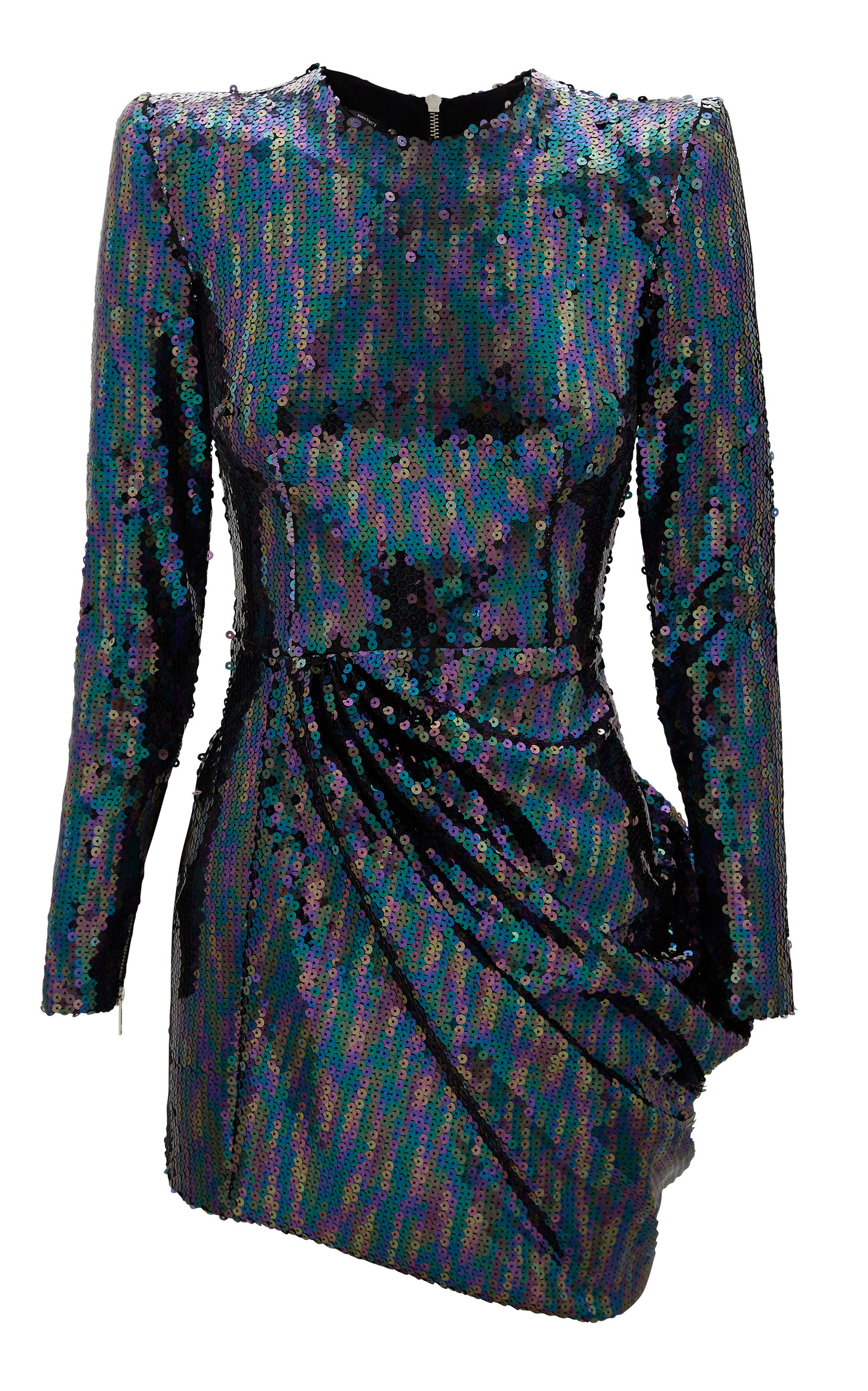 0262389c699 Iris Draped Sequin Mini Dress by Alex Perry
