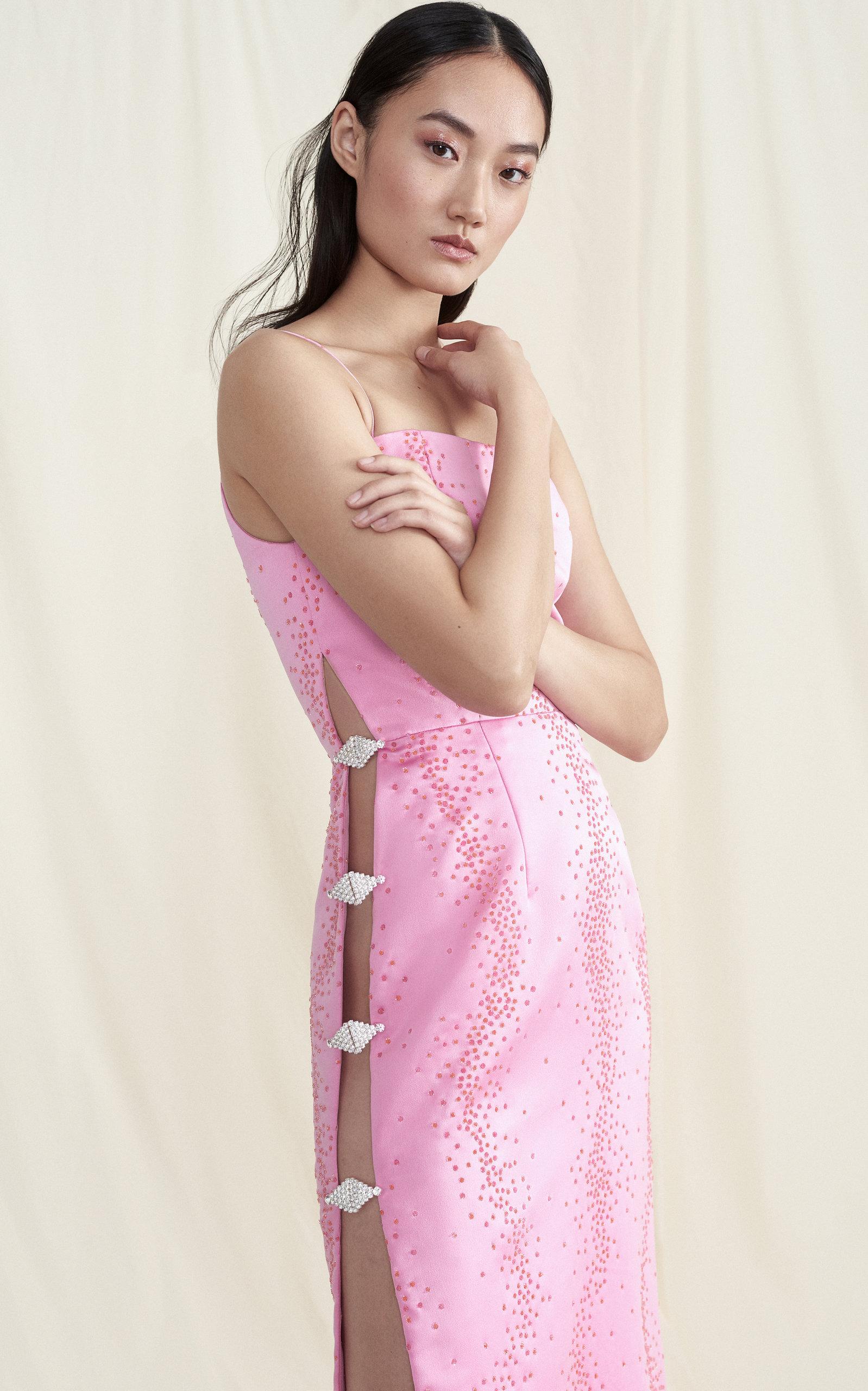 659fb0f6bdb6 MarkarianExclusive Ruhi Embellished Silk Midi Dress. CLOSE. Loading. Loading.  Loading. Loading