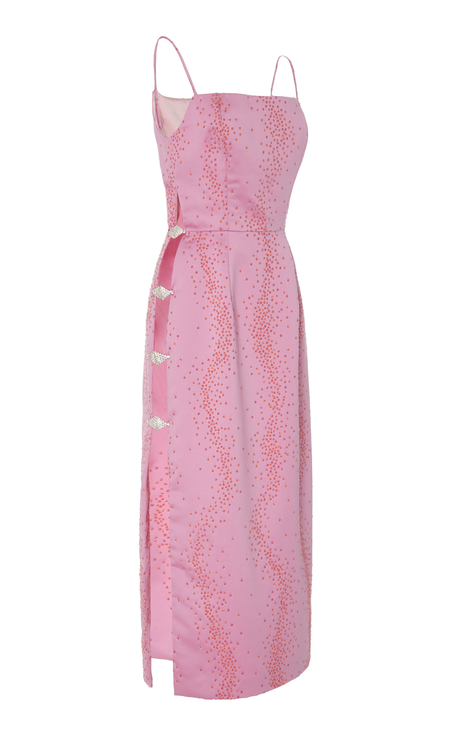 ed5296cdb3b1 MarkarianExclusive Ruhi Embellished Silk Midi Dress. CLOSE. Loading. Loading