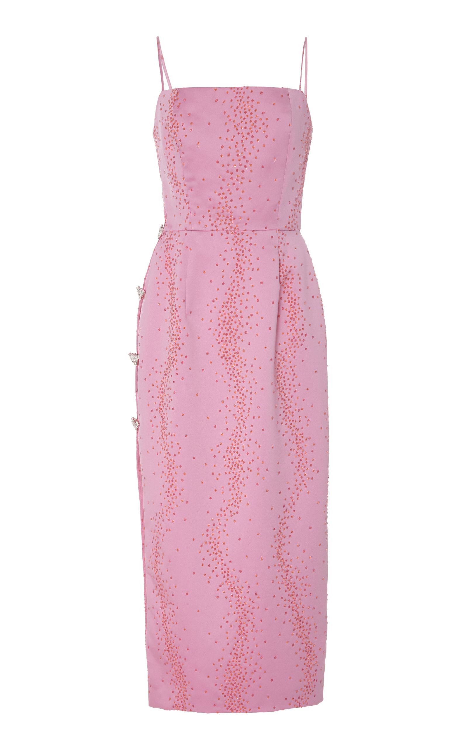 b7cf6dda2f40 Exclusive Ruhi Embellished Silk Midi Dress by Markarian | Moda Operandi