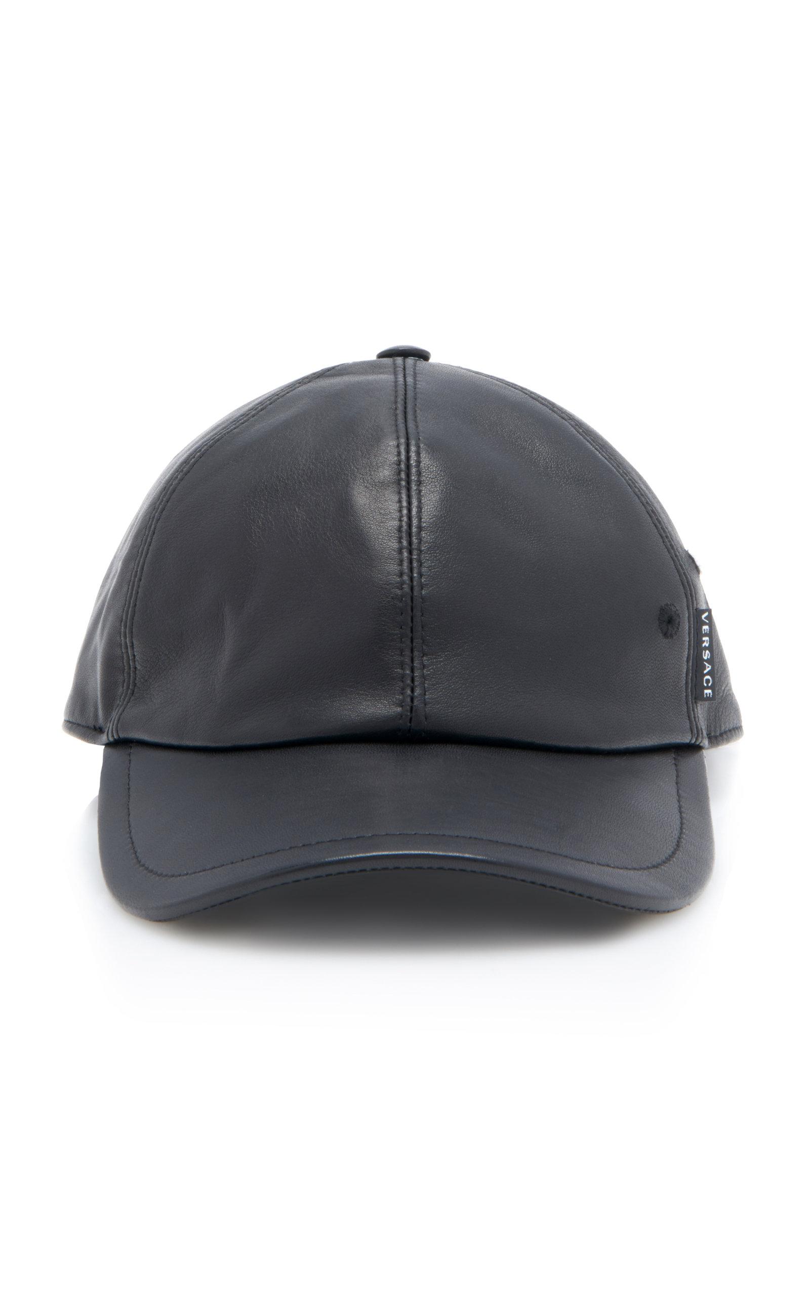 Leather Cap by Versace  bdf573189db
