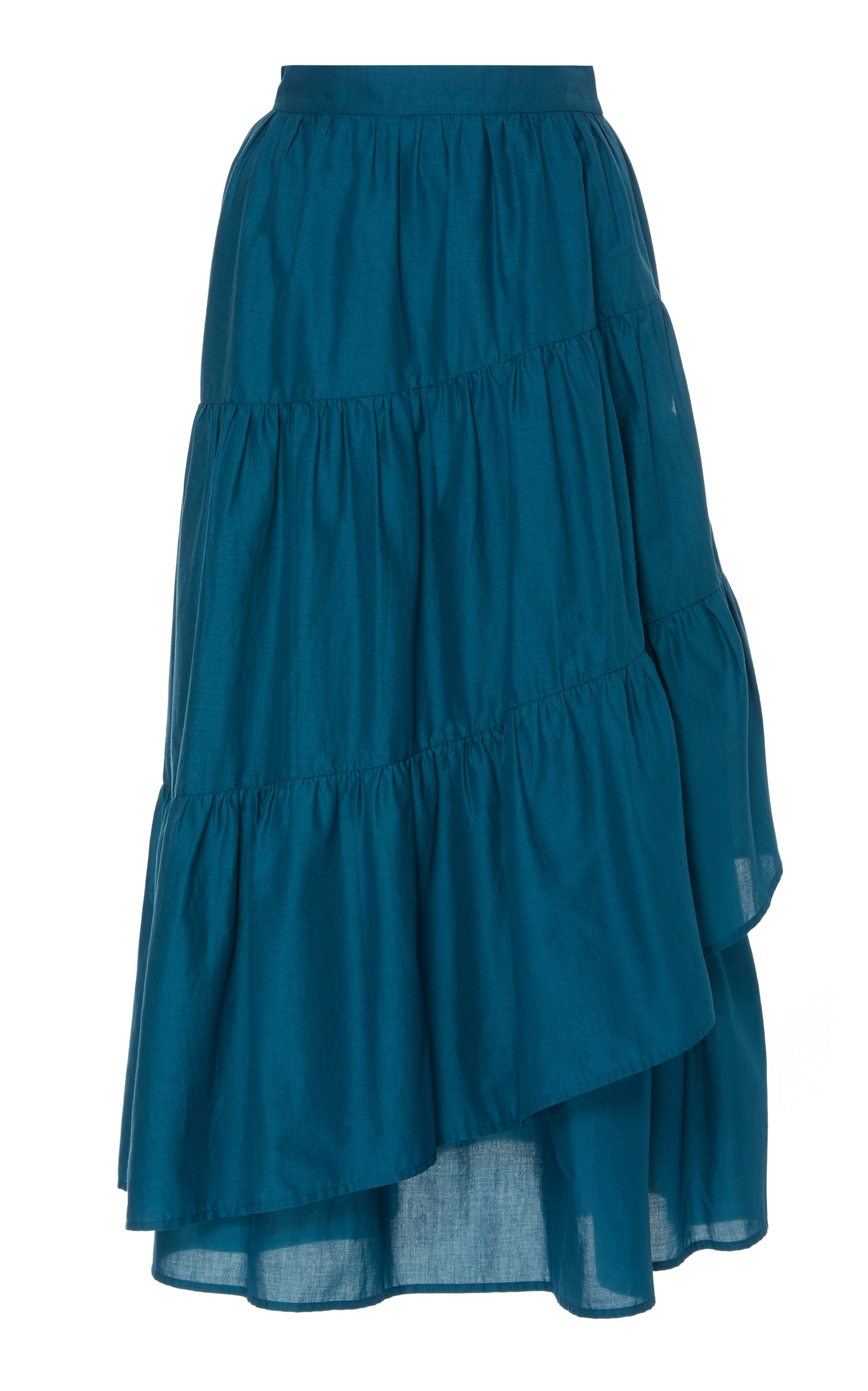 52b26cd0cc6860 Hallerbos Cotton Maxi Skirt by Merlette   Moda Operandi