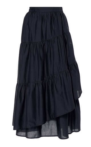 MERLETTE | Merlette Hallerbos Cotton Maxi Skirt | Goxip