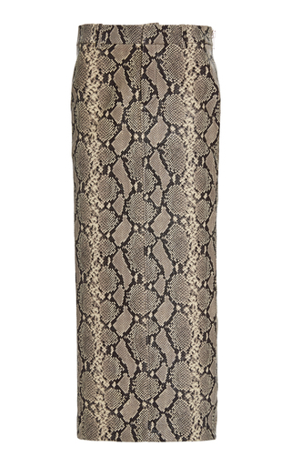 be771bc77 Patterned Georgette Midi Skirt. $505 · PREORDER