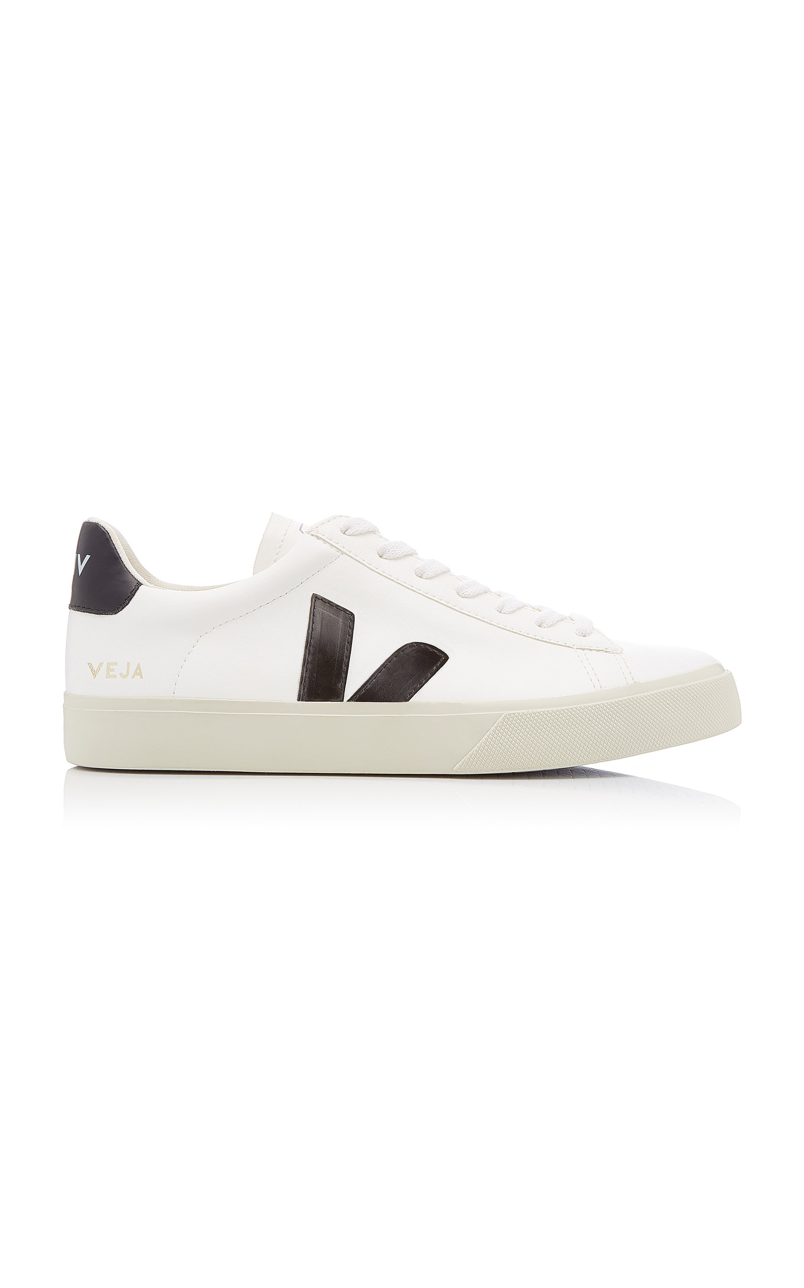 VEJA | VEJA Campo Leather Low-Top Sneakers | Goxip