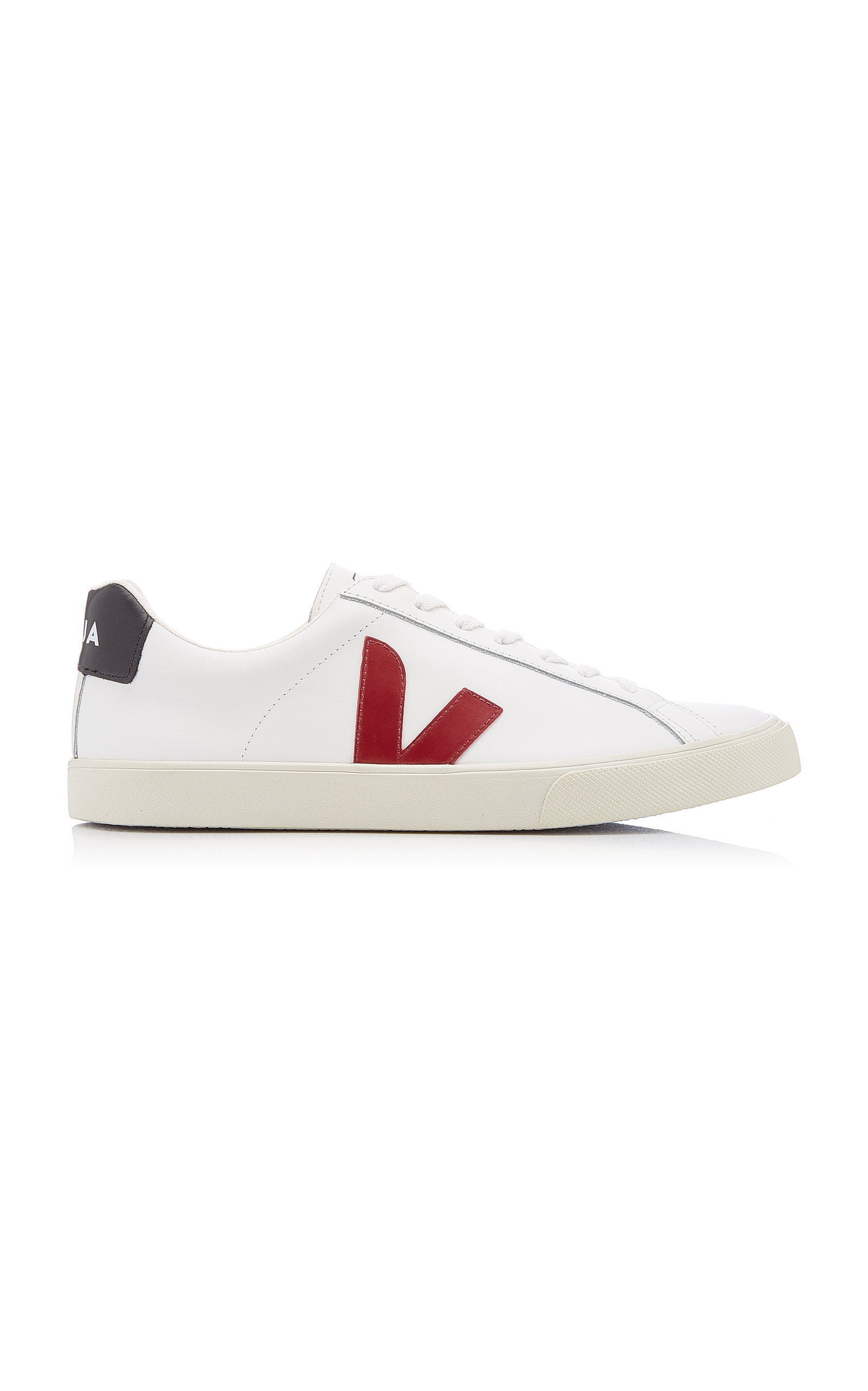 VEJA | VEJA Esplar Leather Low-Top Sneakers | Goxip