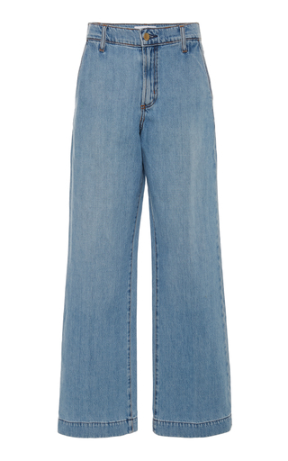 NOBODY DENIM | Nobody Denim Francoise High-Rise Wide-Leg Jeans | Goxip