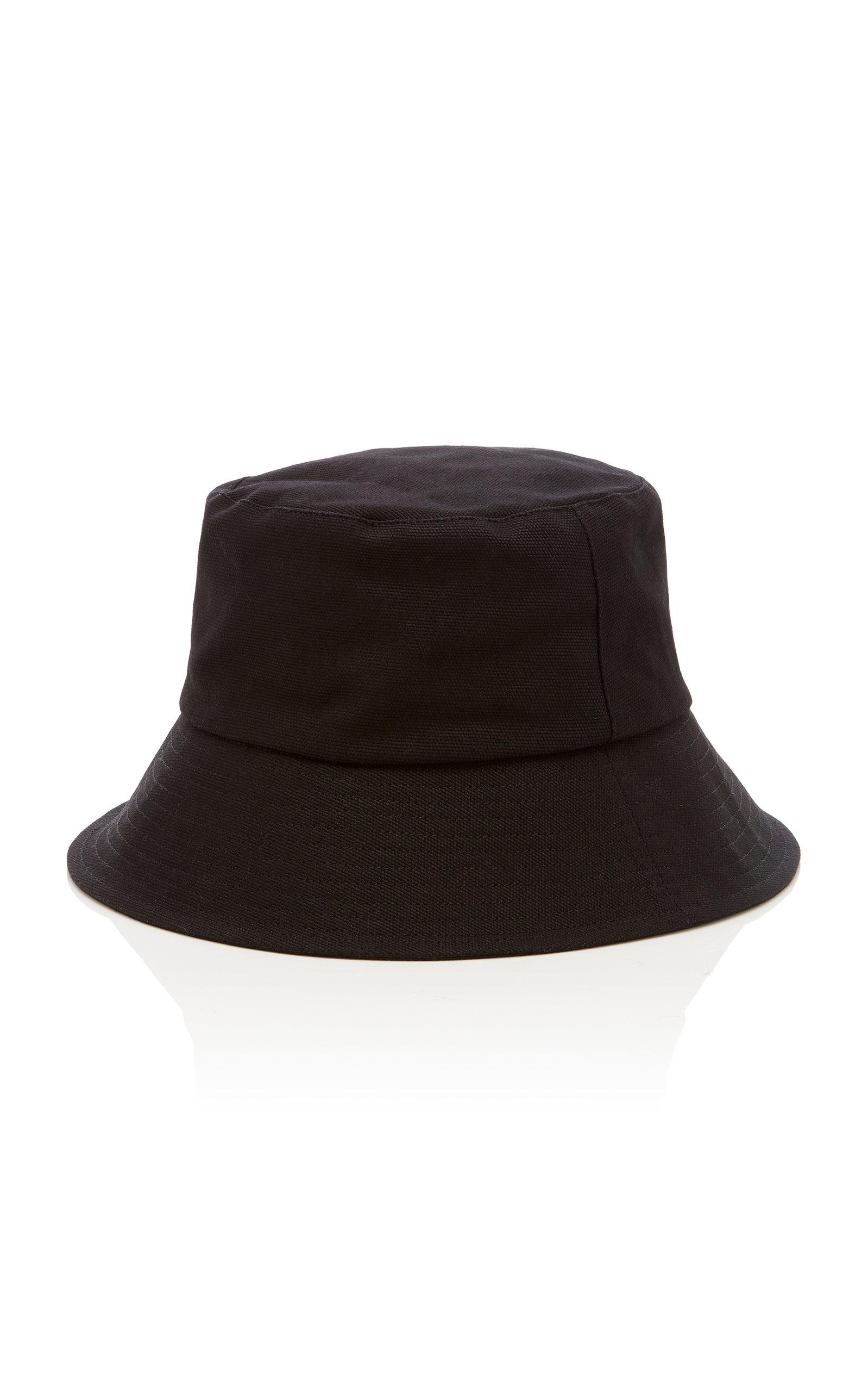 f725d36b2007d7 Wave Cotton-Canvas Bucket Hat by Lack of Color | Moda Operandi