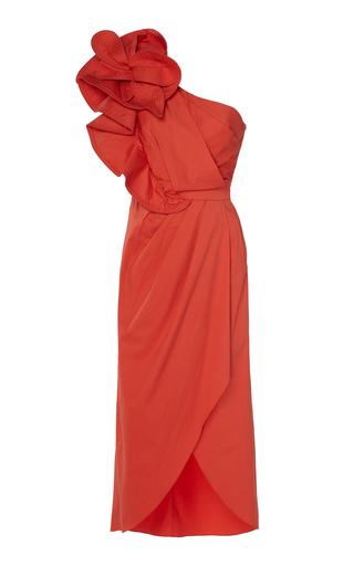 72999732024 Johanna OrtizExclusive Persian Opulence Cotton-Blend Midi Dress