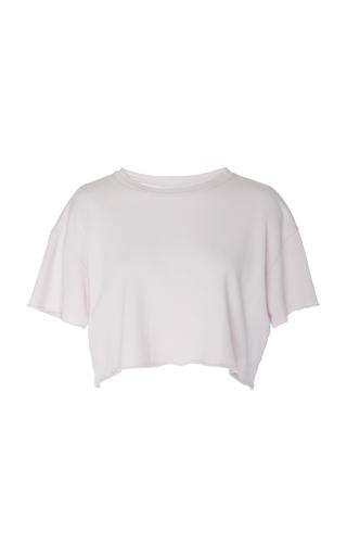 LANSTON | Lanston Cropped Garment Dyed Tee | Goxip