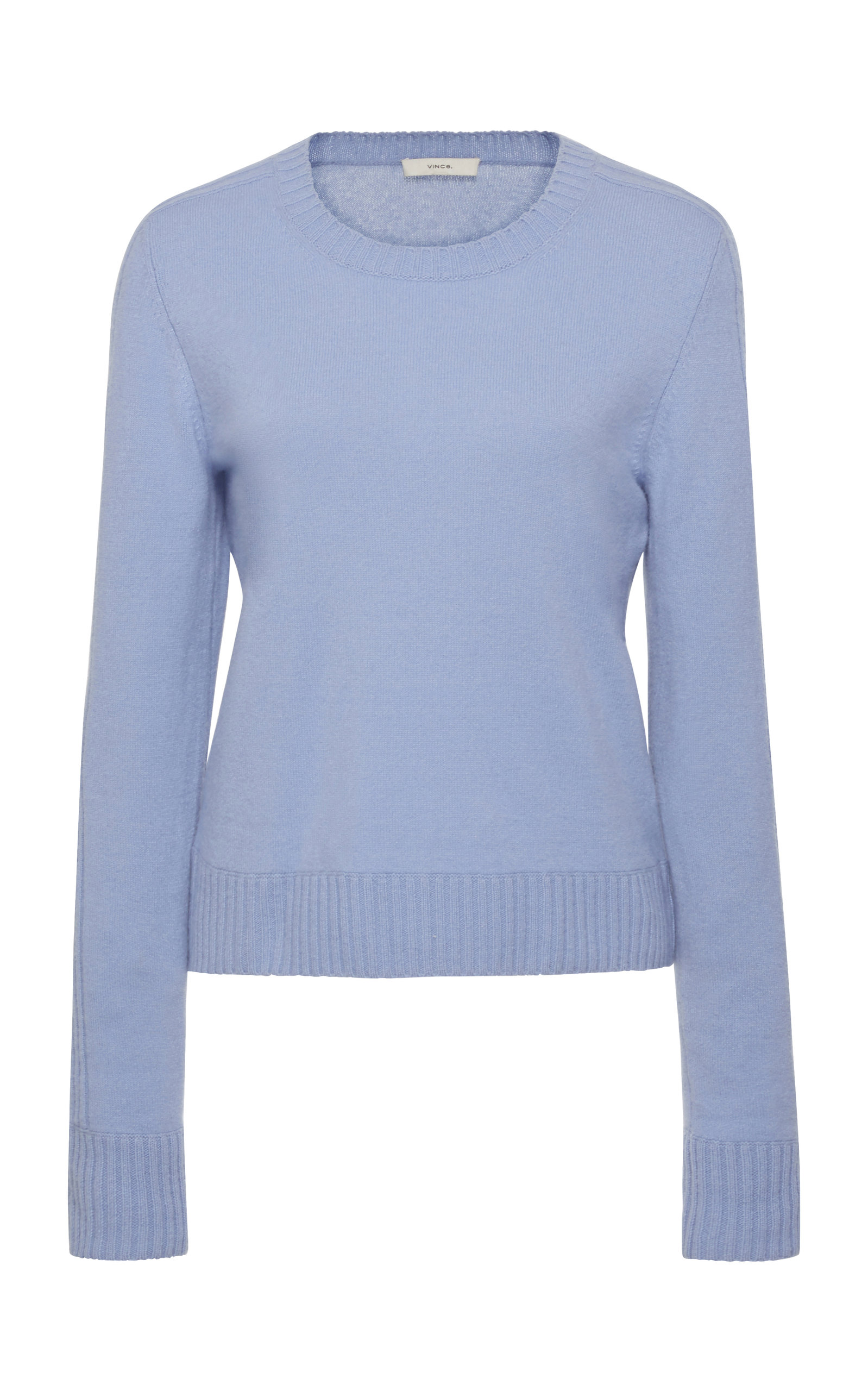 Vince Hats Rib-Trimmed Cashmere Sweater