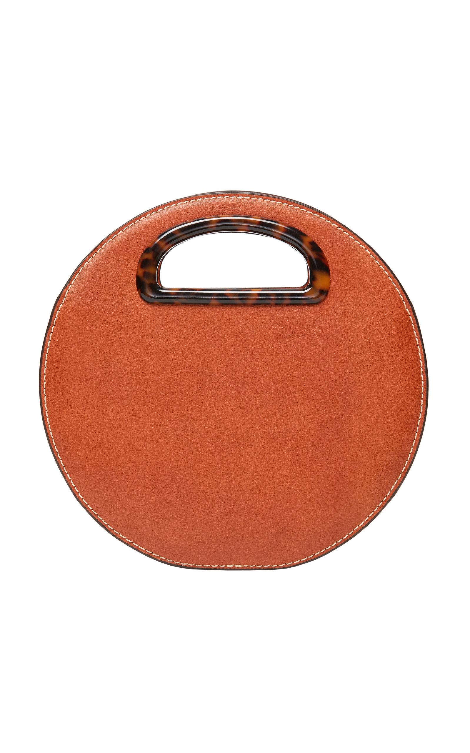 Loeffler Randall Crossbody Indy Circle Leather Crossbody Bag