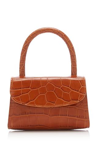 80c205be Mini Croc-Effect Leather Bag by by FAR   Moda Operandi