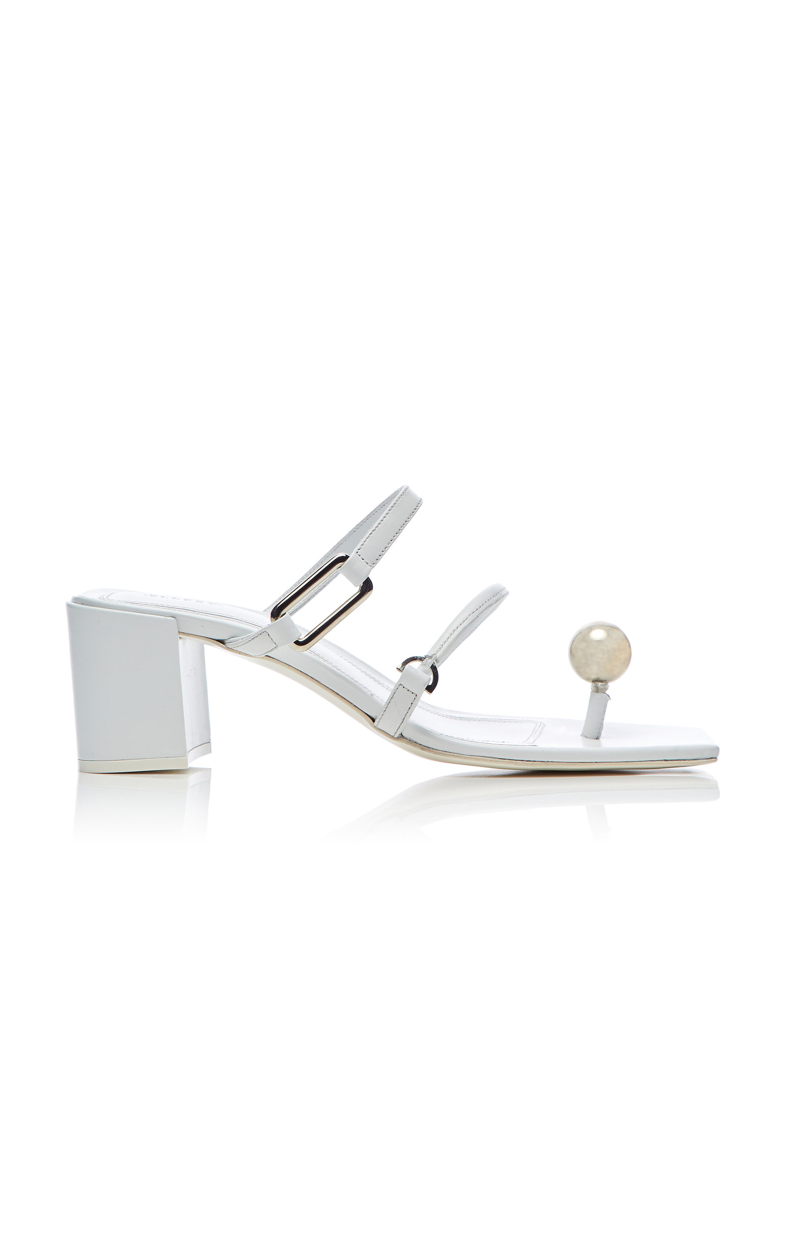 c07e91efe1a Wyoming Hardware-Embellished Strappy Sandals by Ellery