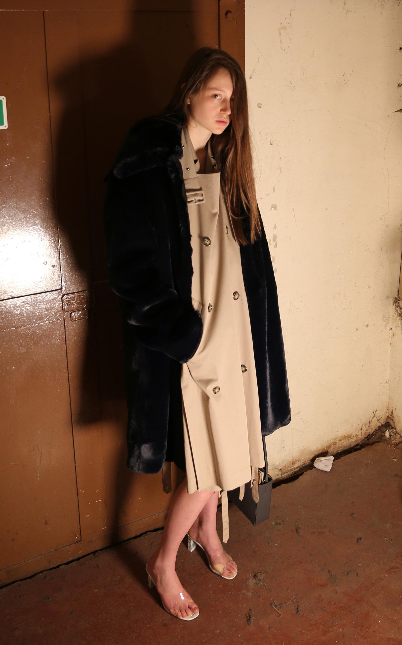 14d21157ecfb7 RokhOversized Faux Fur Coat. CLOSE. Loading
