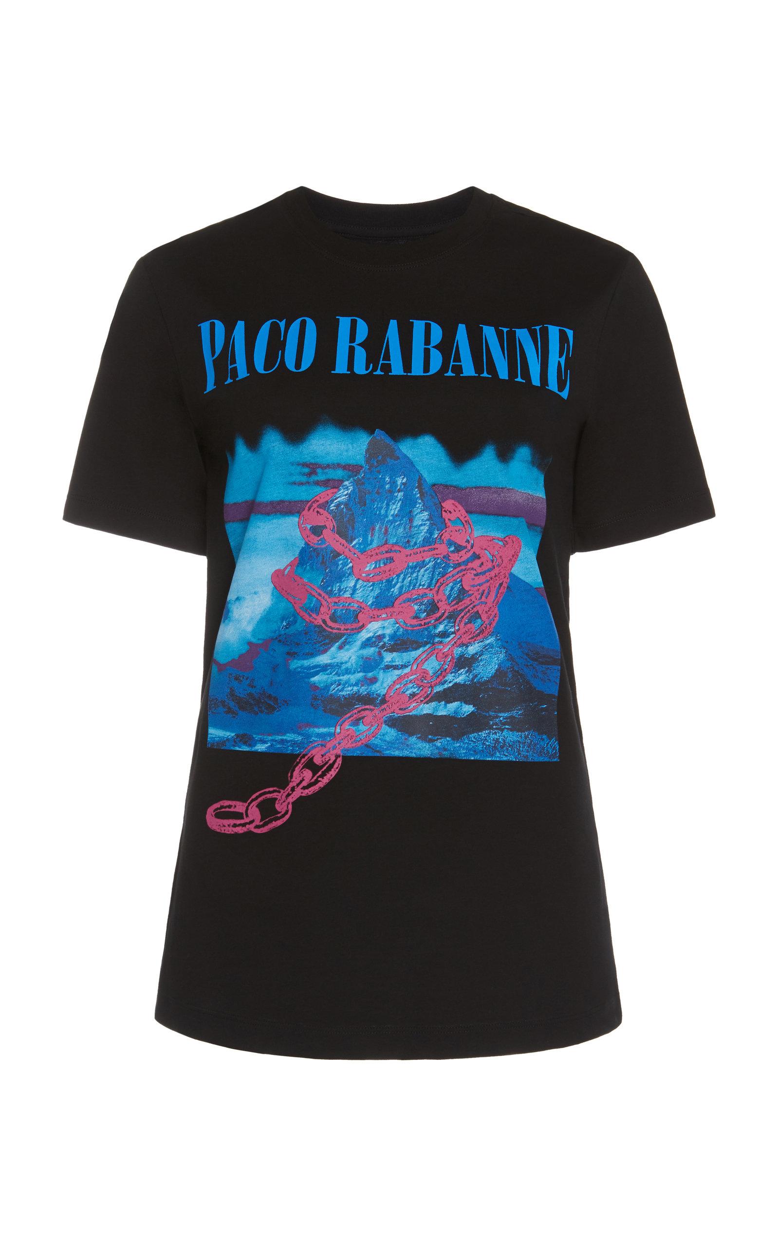 Shop Paco Rabanne   T-Shirt In Black df89263ba