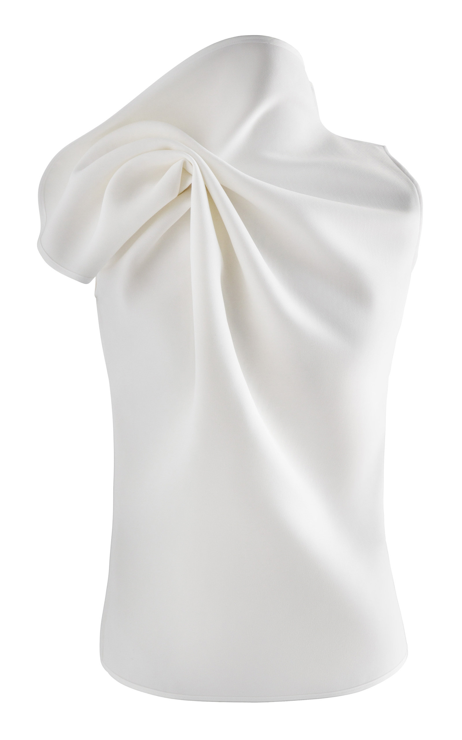Maticevski DEADLY GATHERED CREPE DE CHINE TOP SIZE: 14