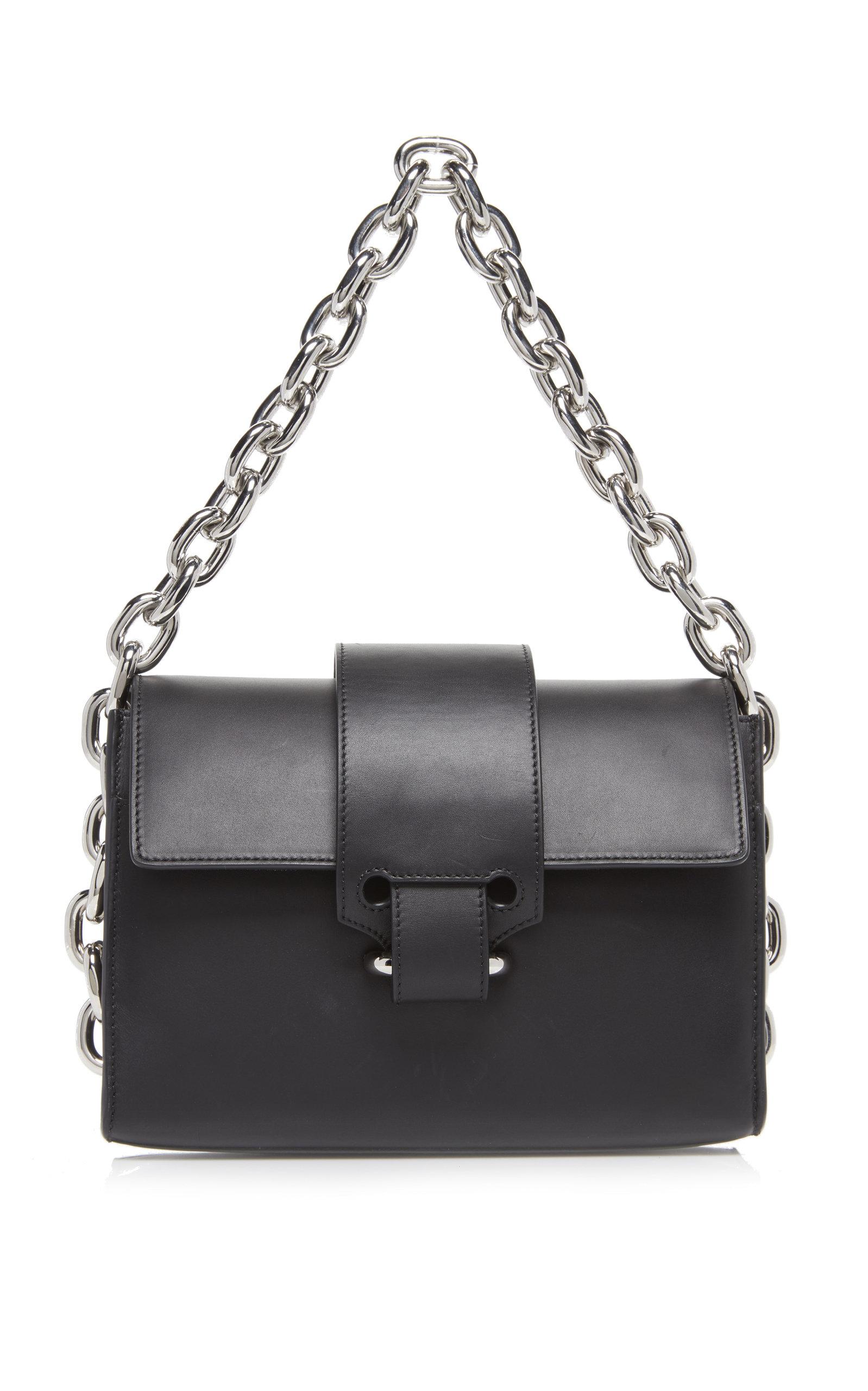 0b9de3eff9a5 Chainlink Leather Shoulder Bag by Paco Rabanne