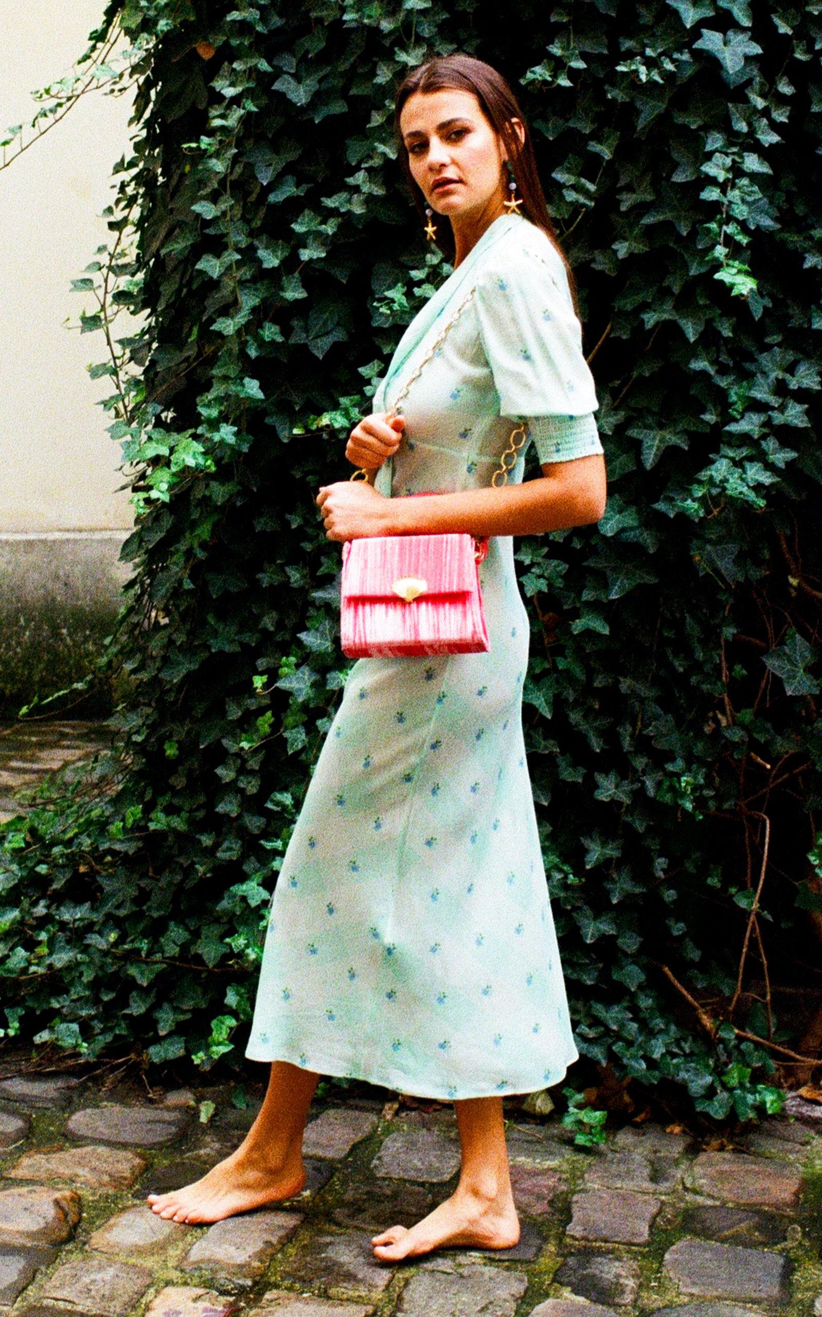 e03a7df761f6 Harper Printed Silk-Cotton Midi Dress by RIXO | Moda Operandi
