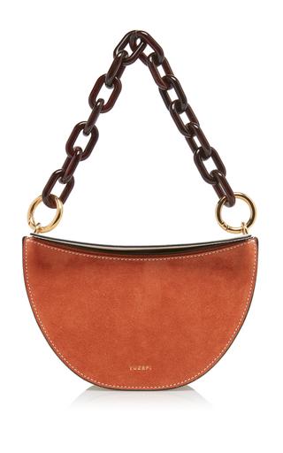 Doris Suede And Leather Bag By Yuzefi Moda Operandi
