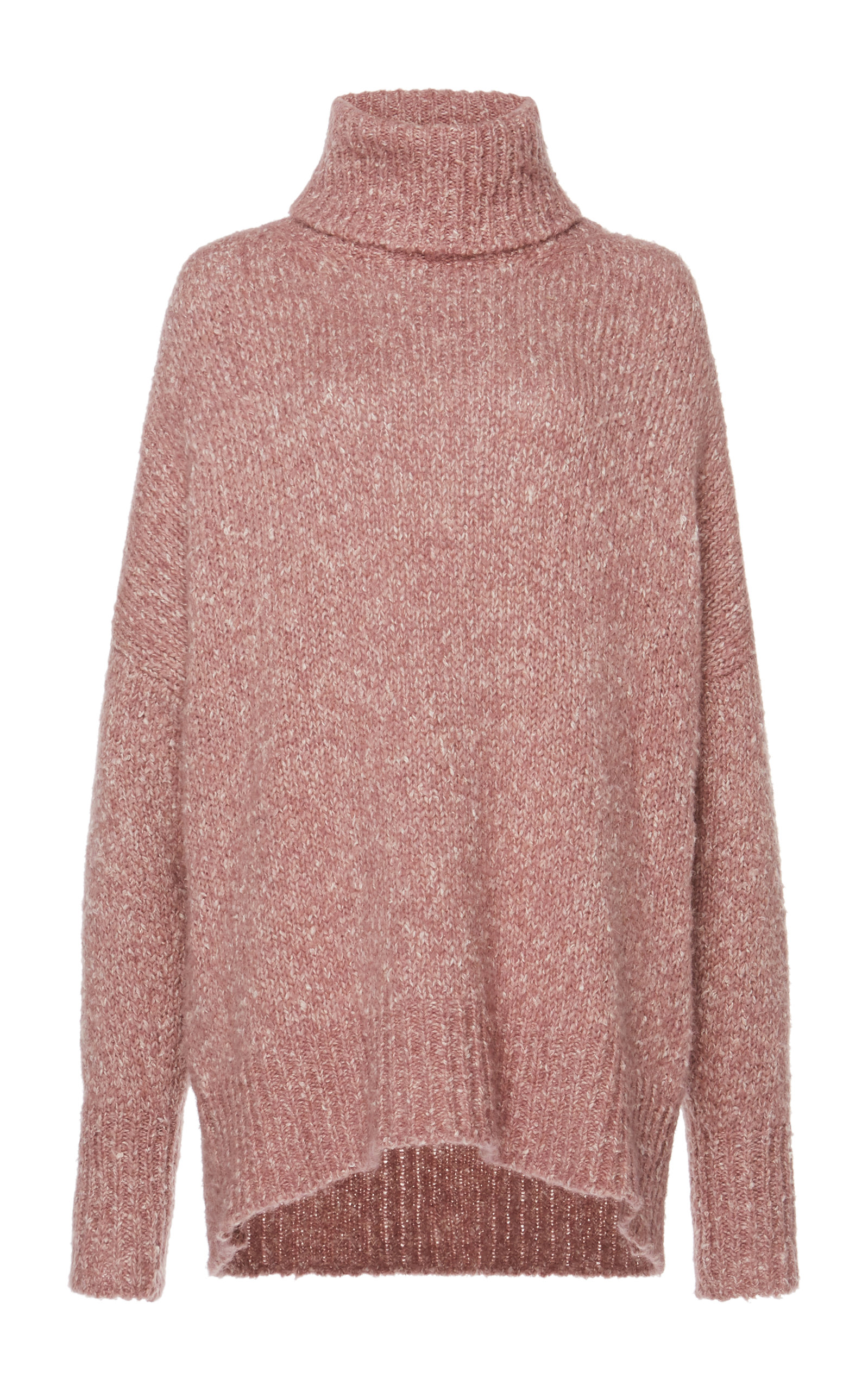 65a35024d29 Shadow Marled Cable-Knit Turtleneck Sweater by Isabel Marant Étoile ...