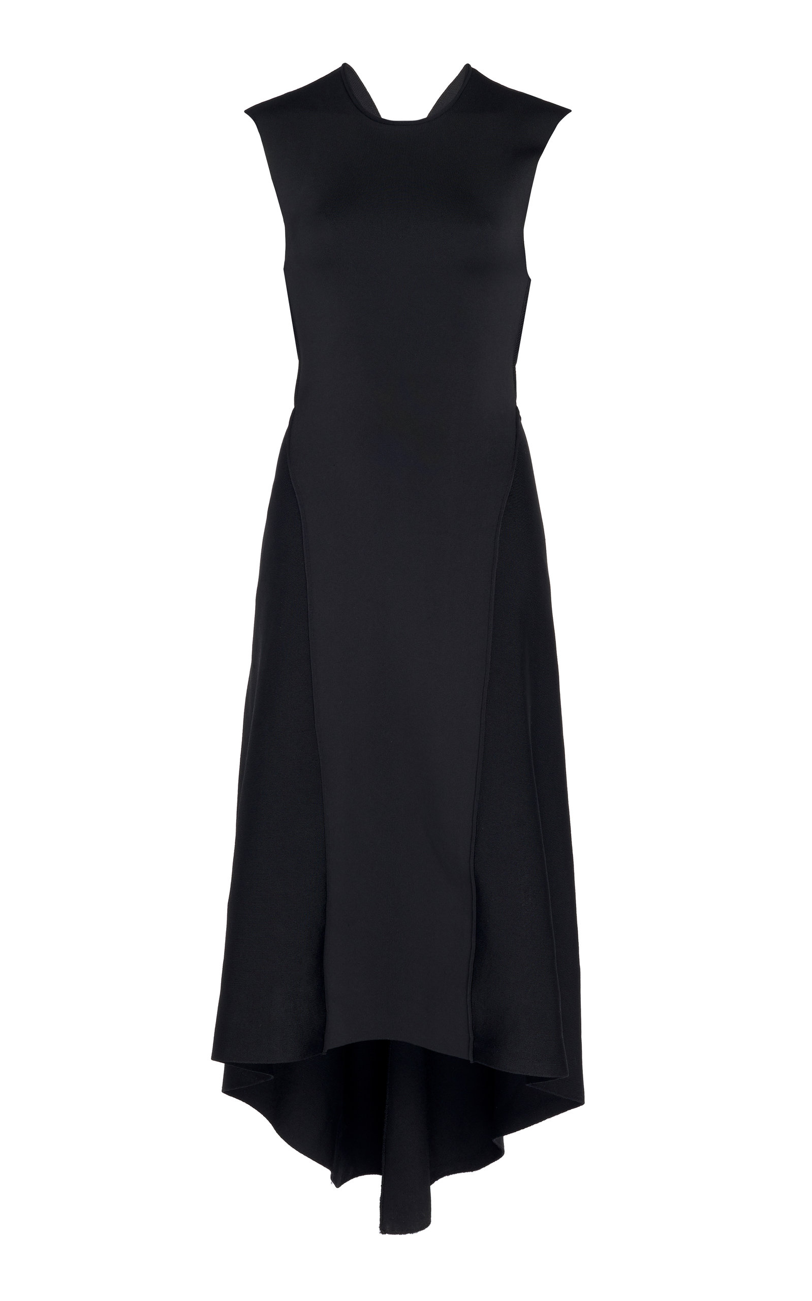 30c9b771b0e97 Cross Back High-Low Midi Dress by Victoria Beckham | Moda Operandi