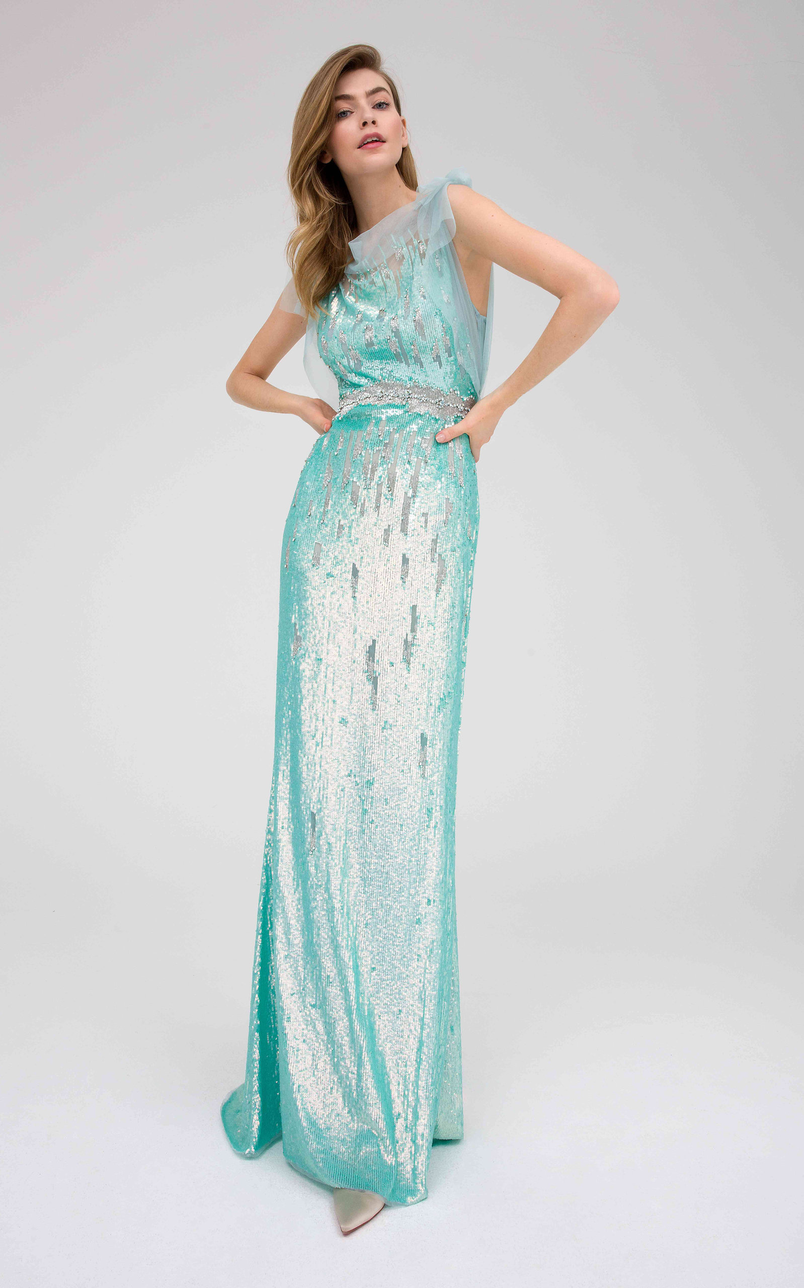 b07cdfdcb Jenny PackhamMarion Ice Sequin Gown. CLOSE. Loading