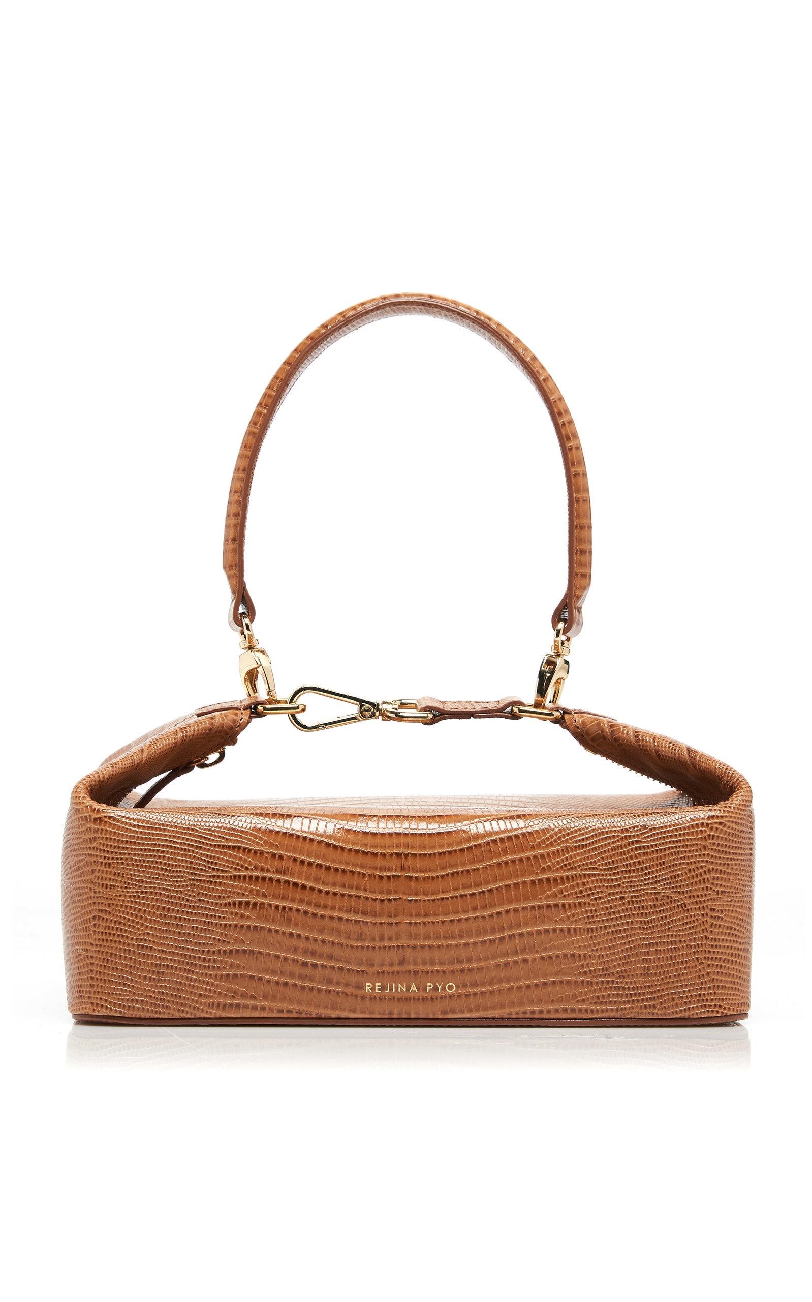 REJINA PYO | Rejina Pyo Olivia Lizard-Effect Leather Bag | Goxip