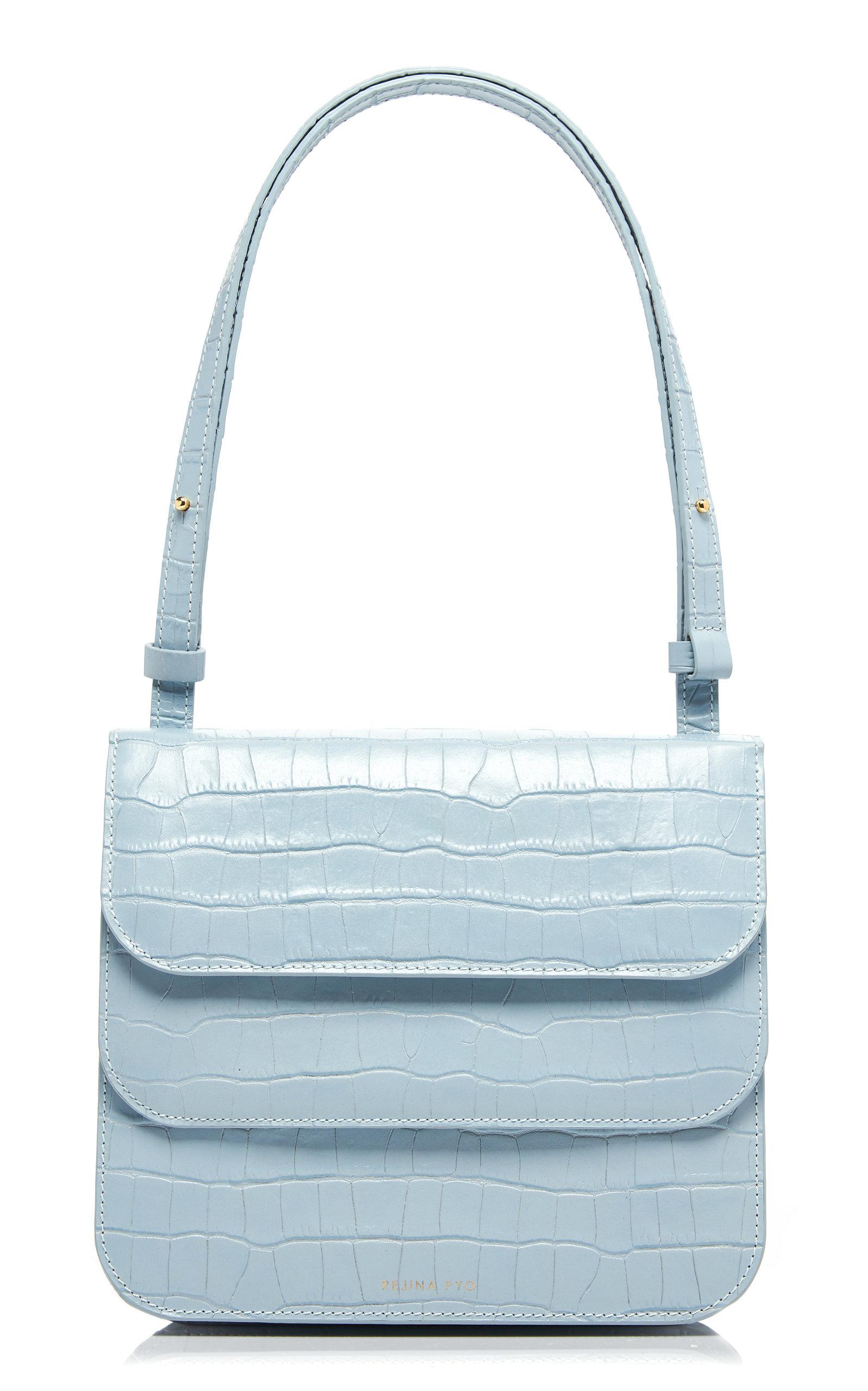 Rejina Pyo Crossbody Ana Croc-Effect Leather Shoulder Bag