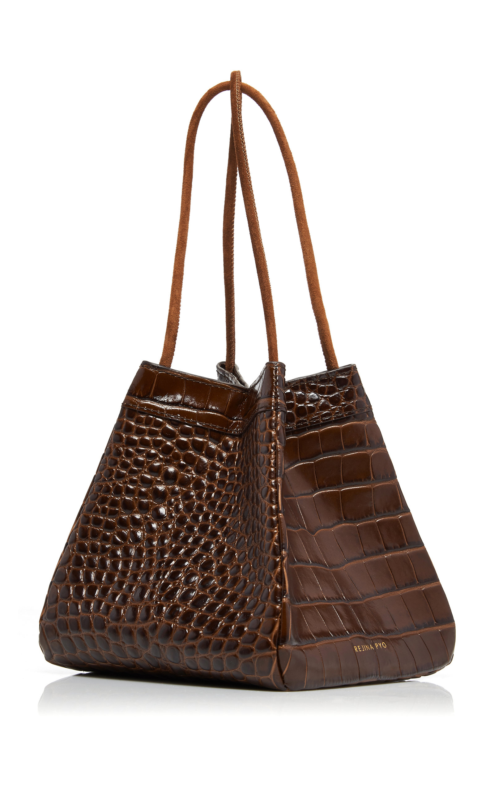 quality distinctive style look for Rita Croc Embossed Leather Bag