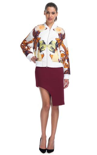 Medium josh goot floral flower brocade bomber jacket