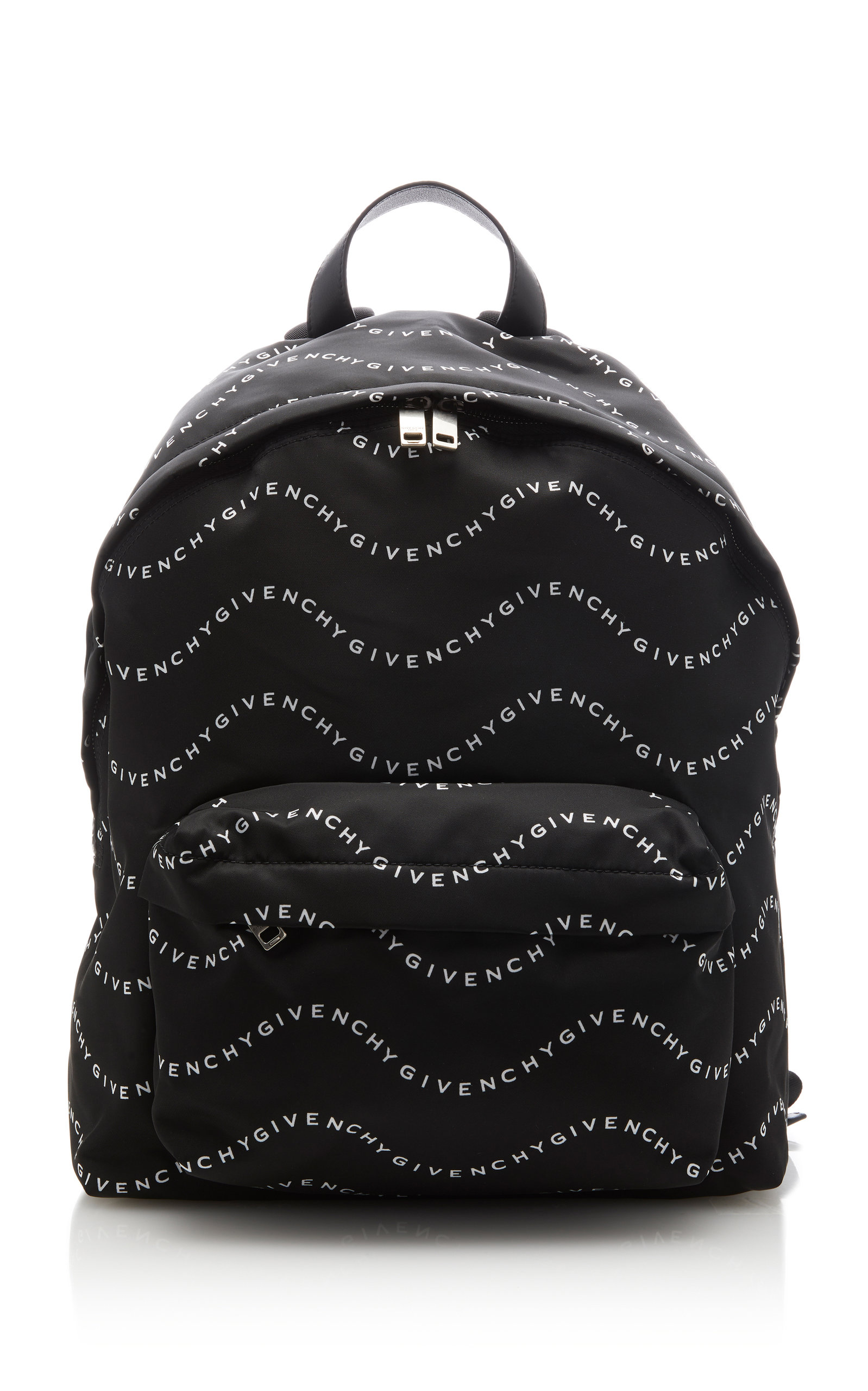 Givenchy Urban Logo Canvas Backpack In Black%2Fwhite
