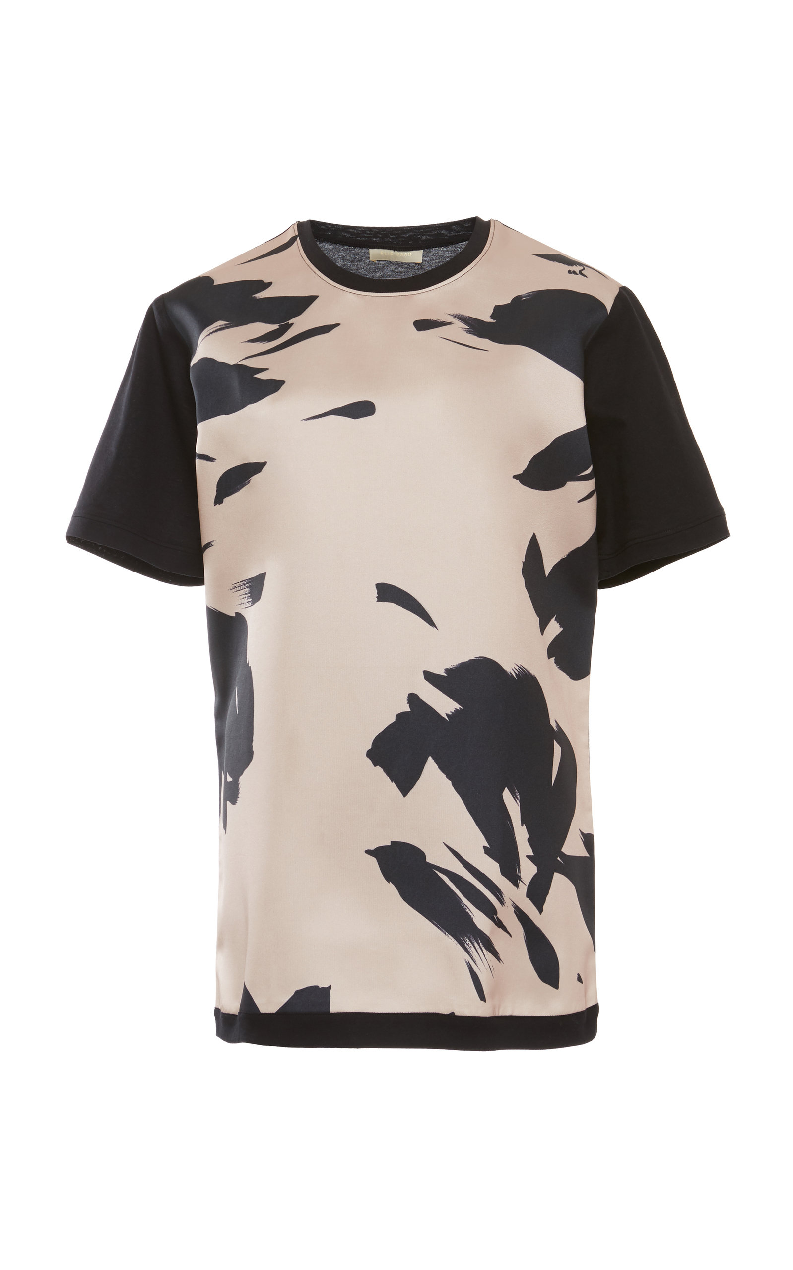 Printed Cotton T Shirt By Elie Saab Moda Operandi