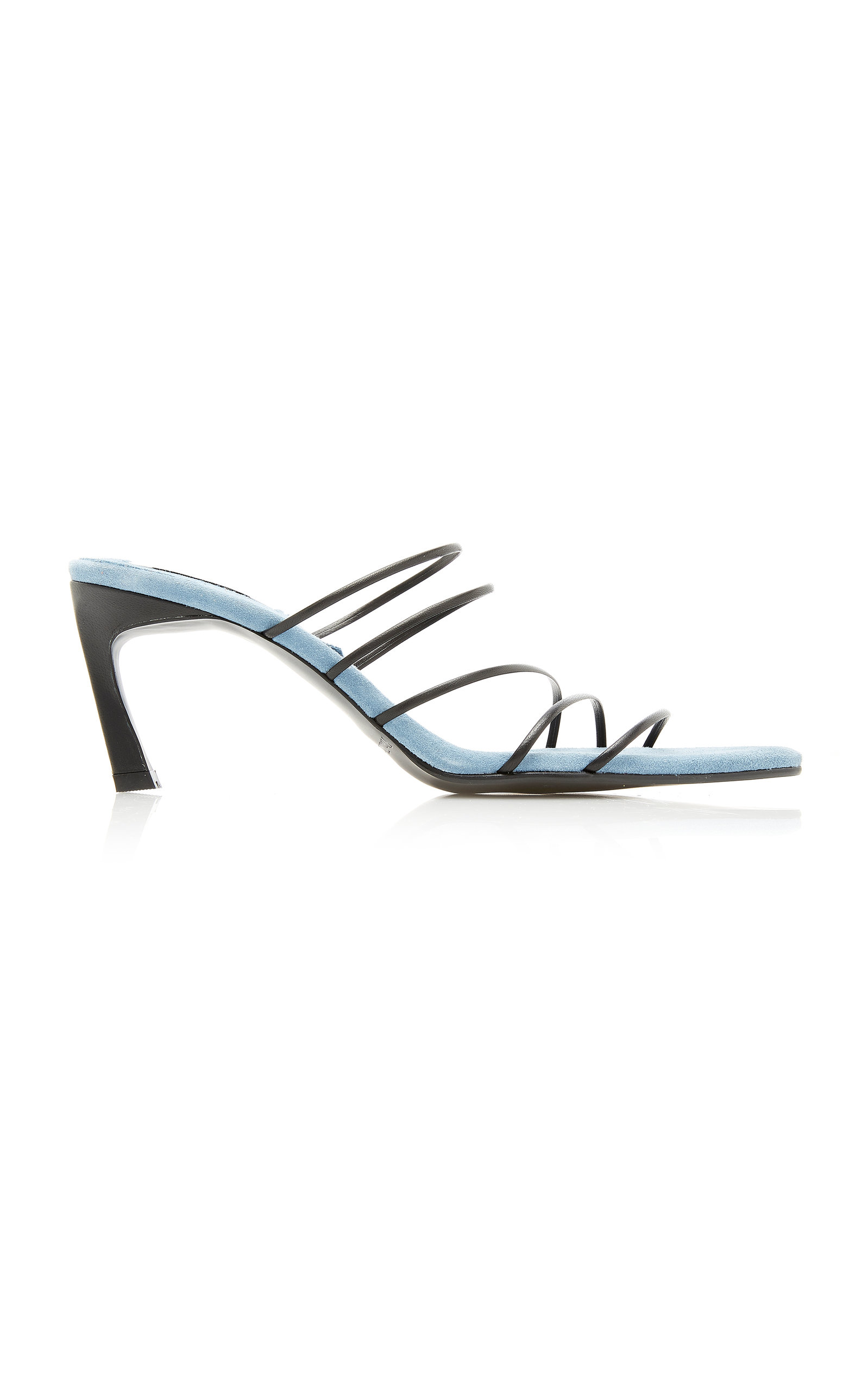 Reike Nen Sandals STRING TWO-TONE LEATHER SANDALS SIZE: 38.5