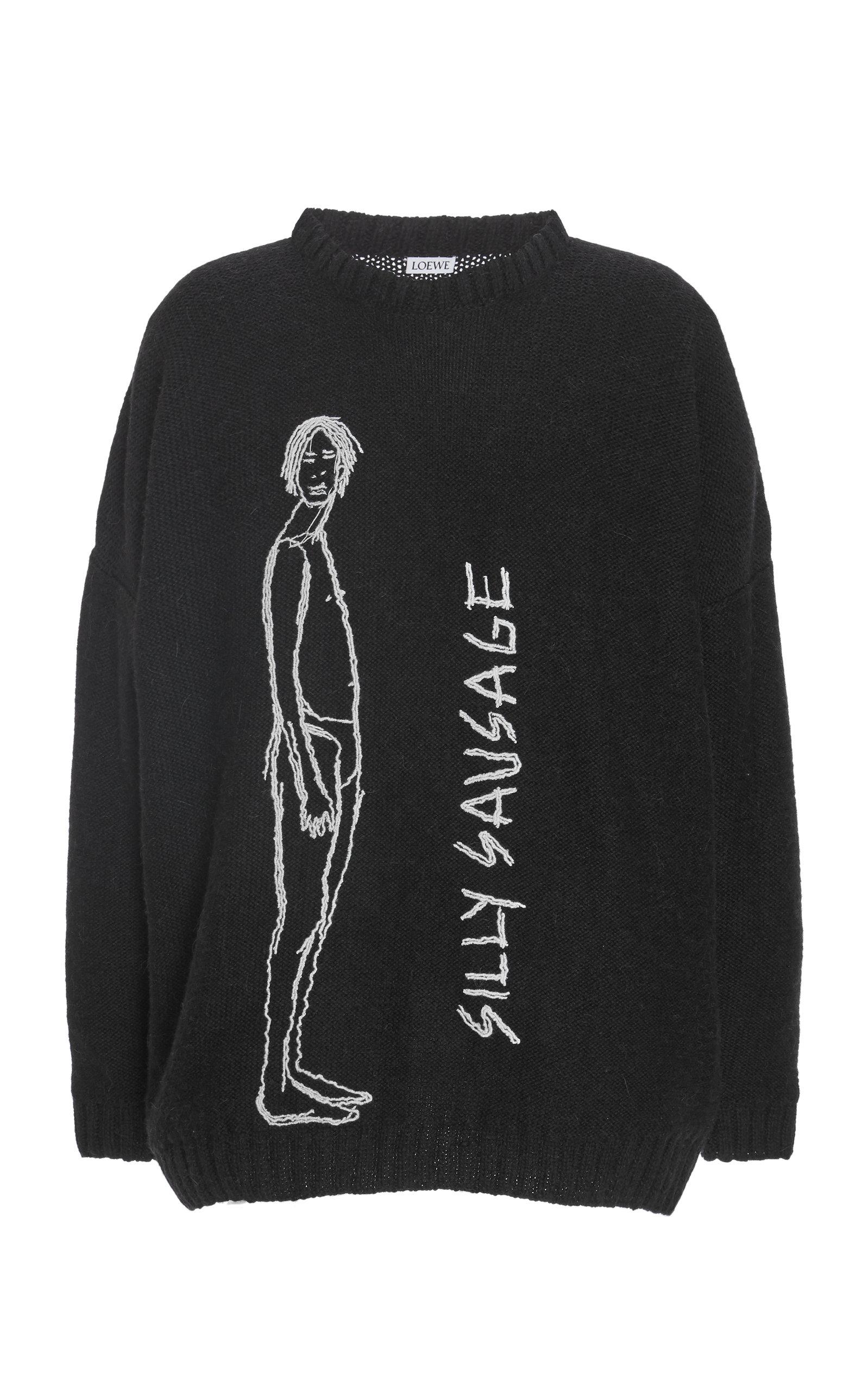68119e255d Silly Sausage Stitch Sweater by Loewe | Moda Operandi